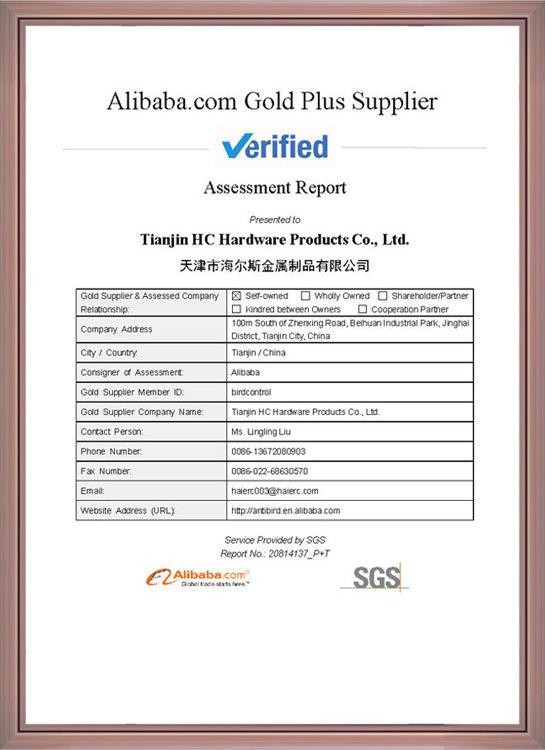 SGS Factory Assessment Report